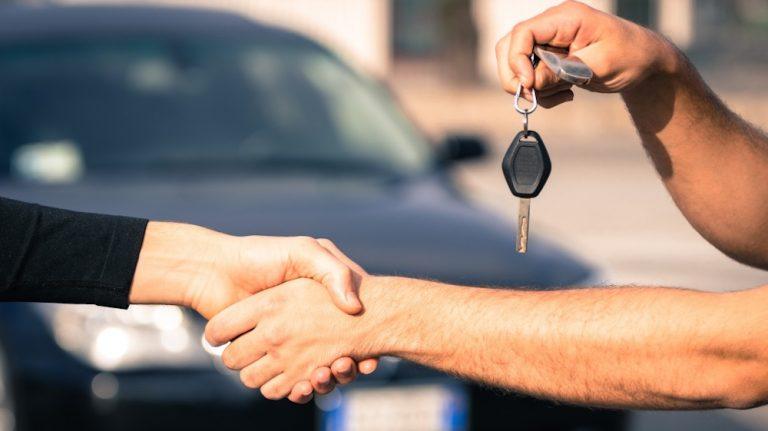 démarches à faire vente voiture