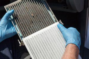 changement filtre climatisation voiture